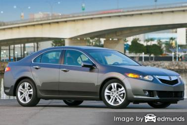 Insurance rates Acura TSX in Portland