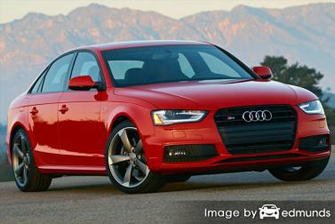 Insurance quote for Audi S4 in Portland