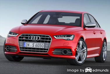 Insurance quote for Audi S6 in Portland