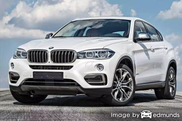 Insurance quote for BMW X6 in Portland