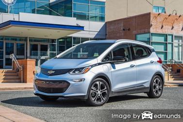 Insurance rates Chevy Bolt in Portland