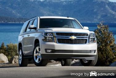 Insurance quote for Chevy Tahoe in Portland