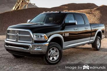Insurance rates Dodge Ram 2500 in Portland