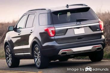Insurance quote for Ford Explorer in Portland
