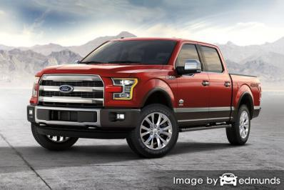 Insurance quote for Ford F-150 in Portland
