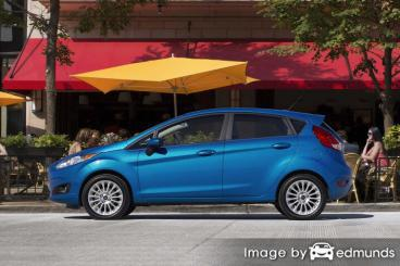 Insurance rates Ford Fiesta in Portland