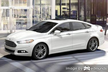 Insurance quote for Ford Fusion in Portland