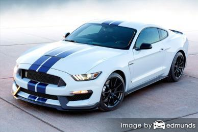 Insurance rates Ford Shelby GT350 in Portland