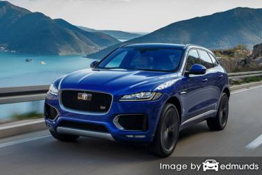 Insurance rates Jaguar F-PACE in Portland