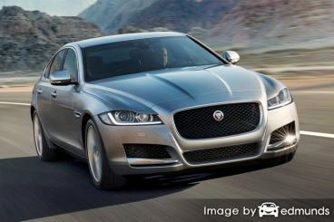 Insurance rates Jaguar XF in Portland