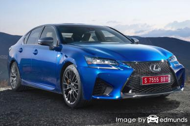 Insurance rates Lexus GS F in Portland