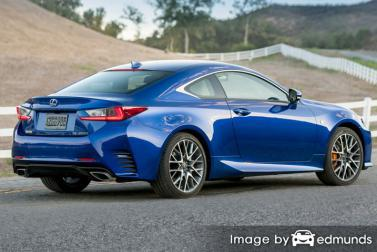 Insurance quote for Lexus RC 200t in Portland