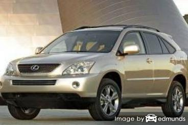 Insurance quote for Lexus RX 400h in Portland