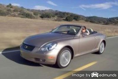 Insurance rates Lexus SC 430 in Portland