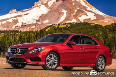 Insurance quote for Mercedes-Benz E350 in Portland