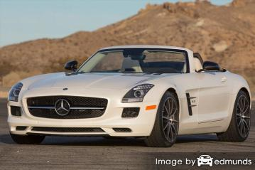 Insurance rates Mercedes-Benz SLS AMG in Portland