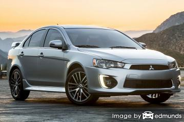 Insurance quote for Mitsubishi Lancer in Portland