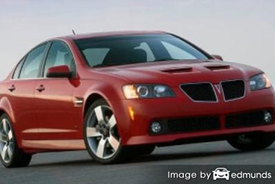 Insurance quote for Pontiac G8 in Portland