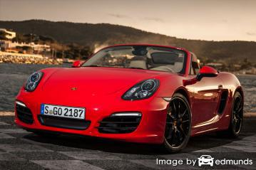 Insurance rates Porsche Boxster in Portland