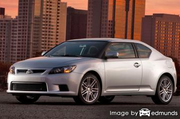 Insurance rates Scion tC in Portland