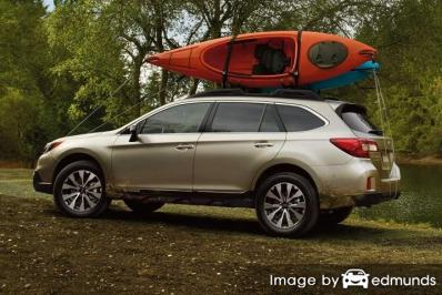 Insurance rates Subaru Outback in Portland