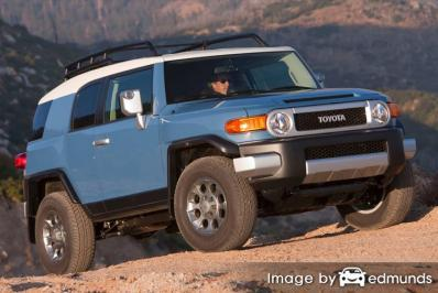 Discount Toyota FJ Cruiser insurance