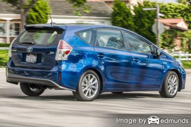 Insurance quote for Toyota Prius V in Portland