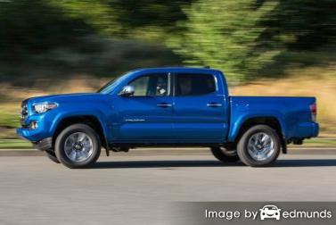 Insurance quote for Toyota Tacoma in Portland