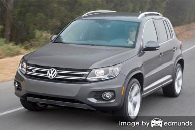 Insurance rates Volkswagen Tiguan in Portland